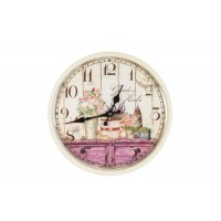 Orologio  shabby chic provenzale gardens d.32