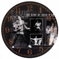 Orologio King of rock da parete d.60