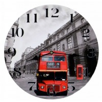 Orologio da muro  London  UK d.30